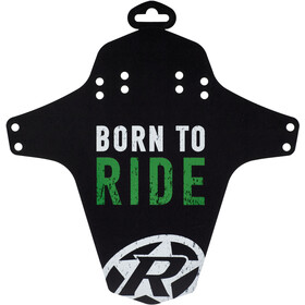 Reverse Born to Ride Guardabarros, neon green